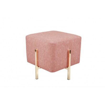 Puf de diseño ELONA (oro rosa)