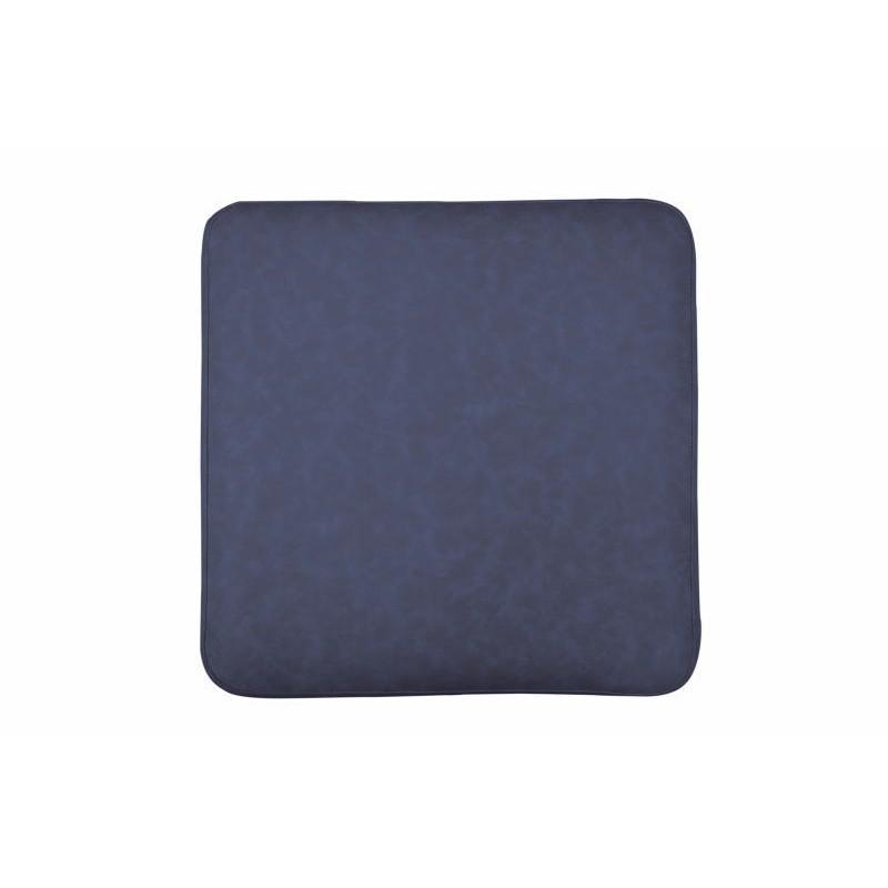 Pouf design LYSON (Bleu cuivre) - image 41990