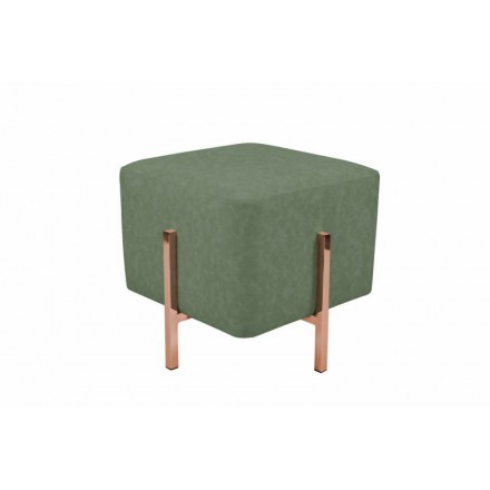Puf de diseño LYSON (cobre verde)