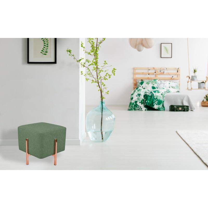 Pouf design LYSON (Vert cuivre) - image 41993
