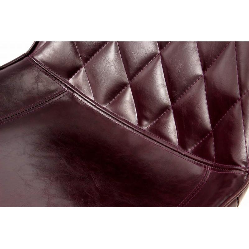 Lot de 2 chaises rétro matelassées EUGENIE (Violet) - image 42009