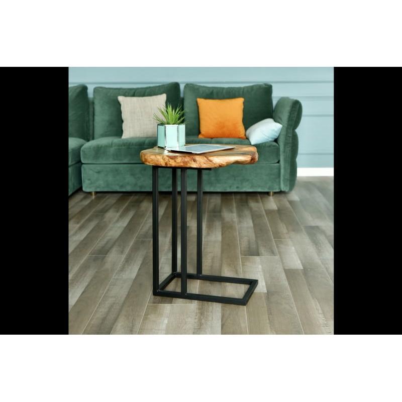 Tavolino, ricca in metallo e legno del fascio di cedro (naturale) - image 42739