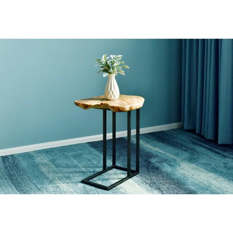 Tavolino, ricca in metallo e legno del fascio di cedro (naturale) - image 42741