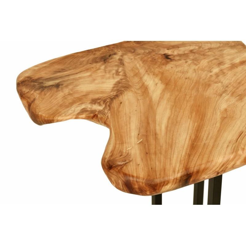 Tavolino, ricca in metallo e legno del fascio di cedro (naturale) - image 42743