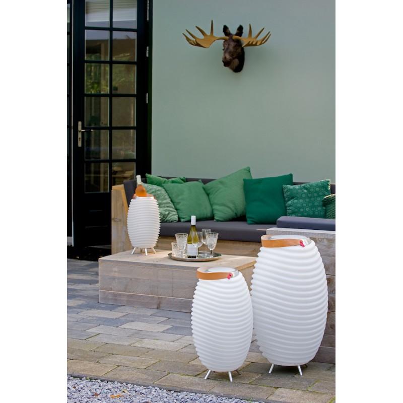Lamp LED bucket champagne pregnant speaker bluetooth KOODUU synergy 65PRO (white) - image 42820