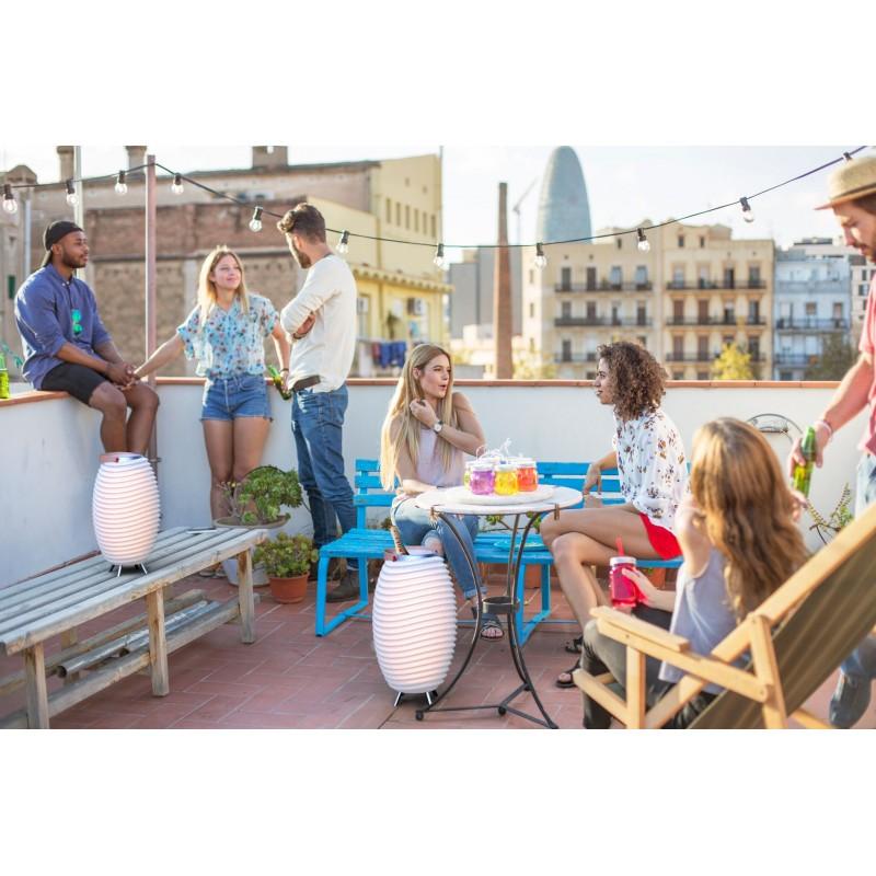 Lamp LED bucket champagne pregnant speaker bluetooth KOODUU synergy 65PRO (white) - image 42827