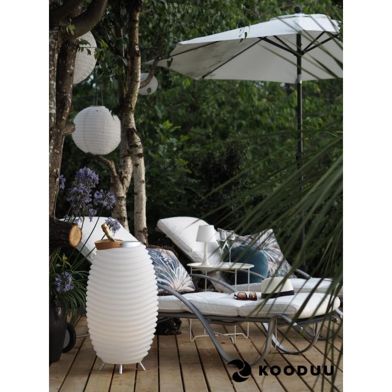Lampada LED secchio champagne incinta altoparlante bluetooth KOODUU sinergia 65PRO (bianco) - image 42866
