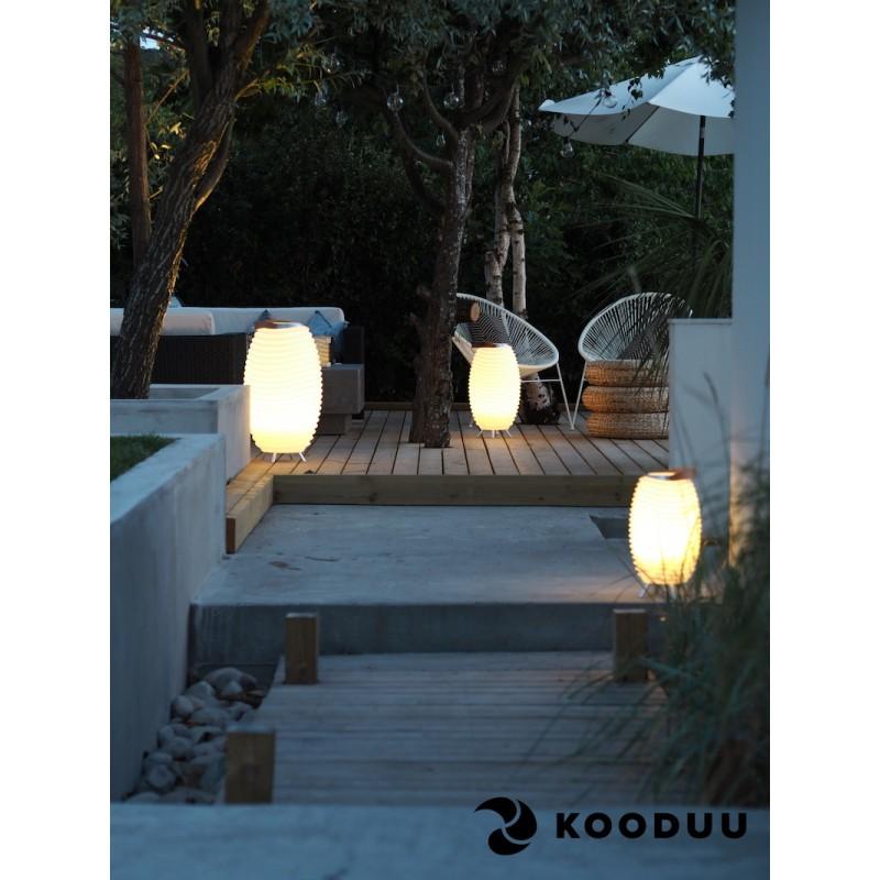 Lamp LED bucket champagne pregnant speaker bluetooth KOODUU synergy 65PRO (white) - image 42868