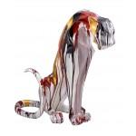 statuette-sculpture-decorative-design-panthere-savane-en-resine-h100-multicolore