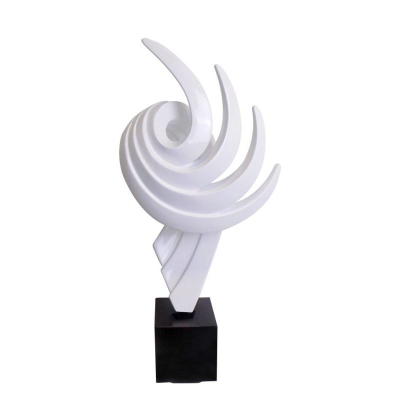Statue decorative sculpture design pregnant Bluetooth THE PASTING in resin (White) - image 43014
