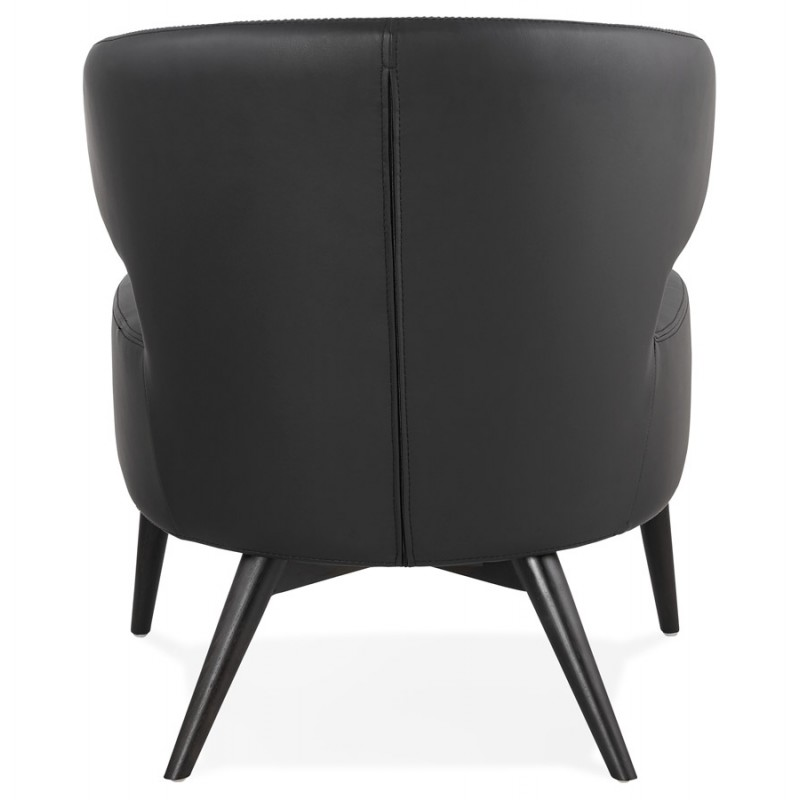 YASUO design chair in polyurethane feet black (black) - image 43179