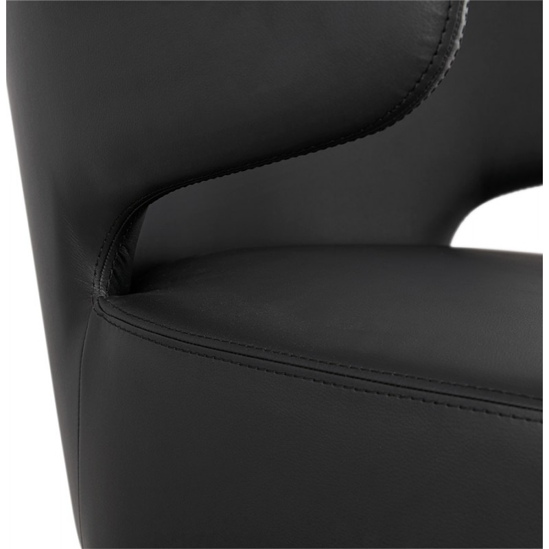 YASUO design chair in polyurethane feet black (black) - image 43184