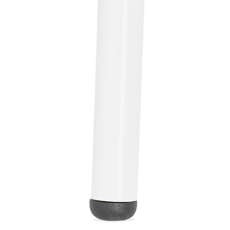 Chaise design industrielle avec accoudoirs ORCHIS en polypropylène (blanc) - image 43315