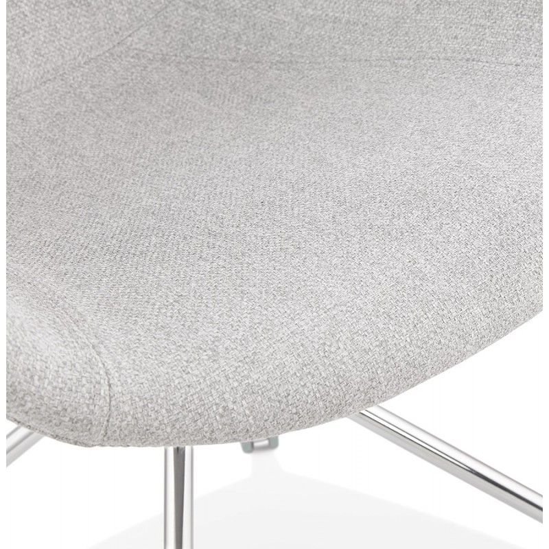 Office chair on CAPUCINE wheels in fabric (light grey) - image 43511