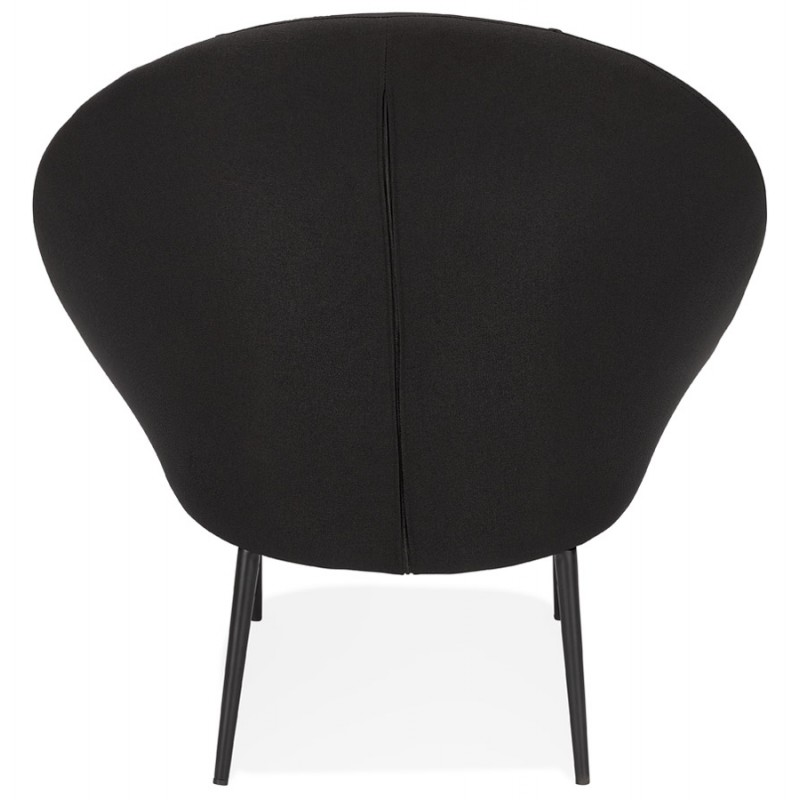 GOYAVE lounge chair in fabric (black) - image 43647