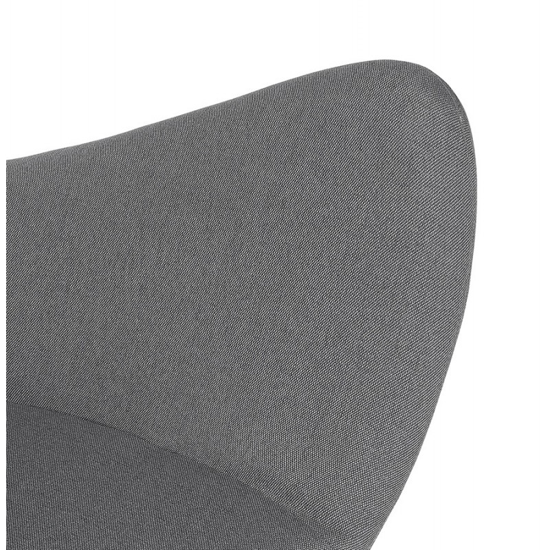 Rocking chair KABOSU en tissu (gris clair) - image 43675