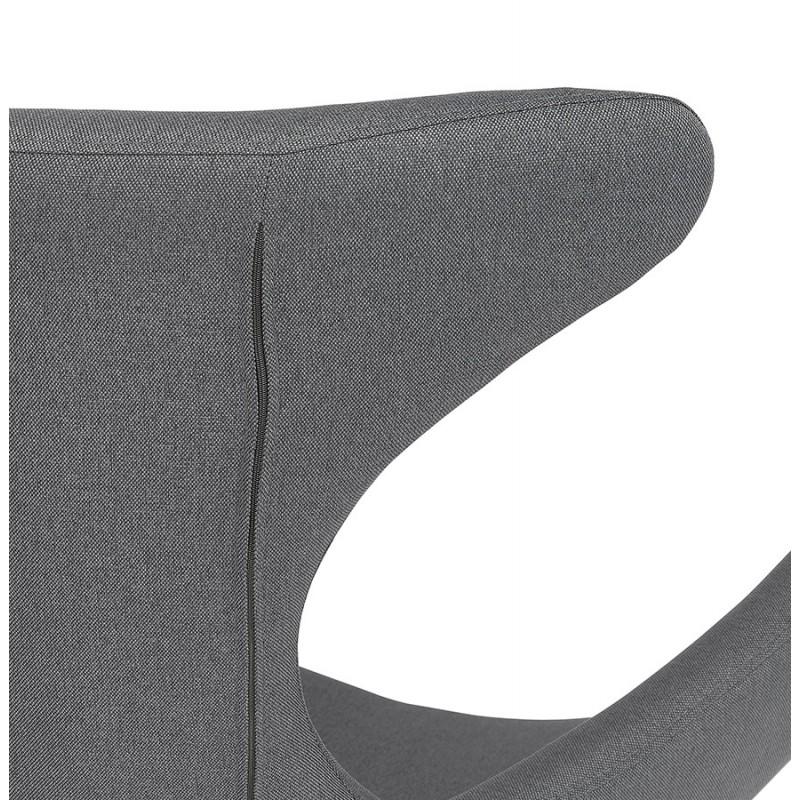 Rocking chair KABOSU en tissu (gris clair) - image 43678