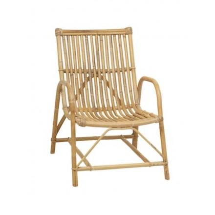 Olivier Vintage Stil natürliche Rattan Stuhl