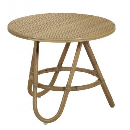 Tavolo basso, pezzo di divano DIABOLO pieghevole (50 cm) (naturale)
