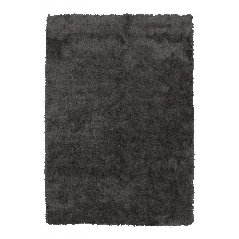 Tapis design et contemporain MIAMI rectangulaire fait main (Gris anthracite) - image 44356