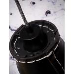 AMAZON SMALL 7 Lampenschirm recycelt Reifen Hängeleuchte (schwarz)