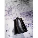 Lampe à suspension en pneu recyclé AMAZON XL 1 abat-jour (noir)