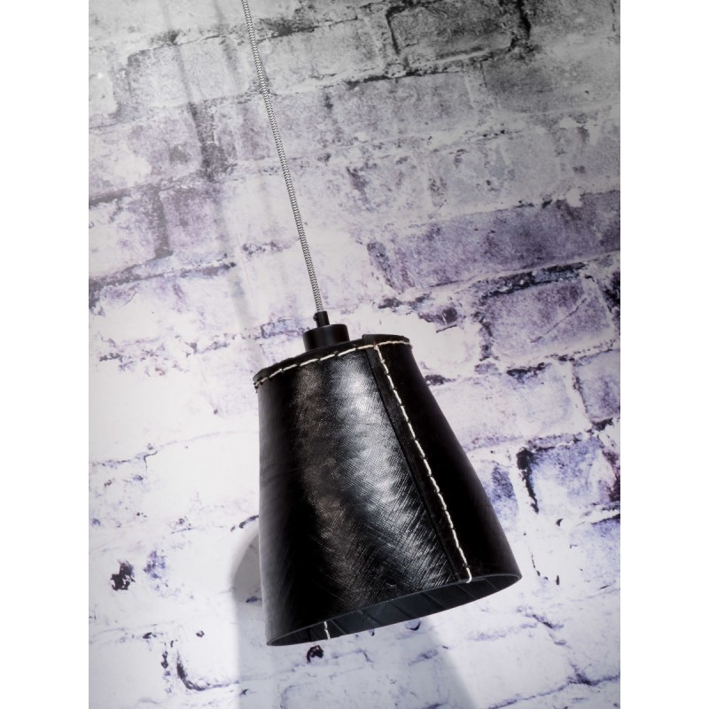 AMAZON XL 1 recycled tire suspension lamp shade (black) - image 45031