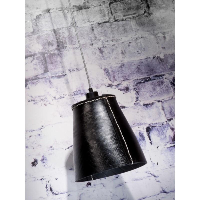 Amazon XL 1 tovagliolo riciclato tonalità lampada per sospensioni pneumatici (nero) - image 45031