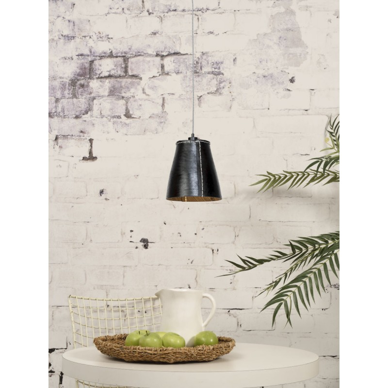 AMAZON XL 1 recycled tire suspension lamp shade (black) - image 45039