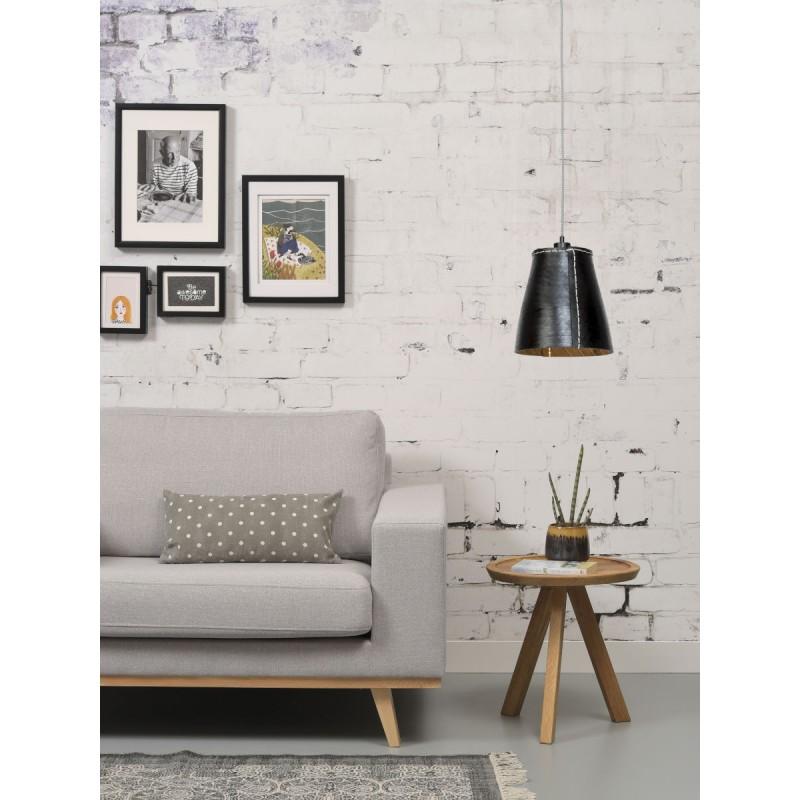 Amazon XL 1 tovagliolo riciclato tonalità lampada per sospensioni pneumatici (nero) - image 45040