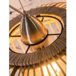 Lámpara de suspensión de bambú BORNEO SMALL 2 pantallas (natural)