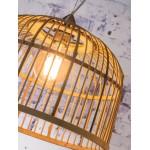 BORNEO XL bamboo suspension lamp (natural)