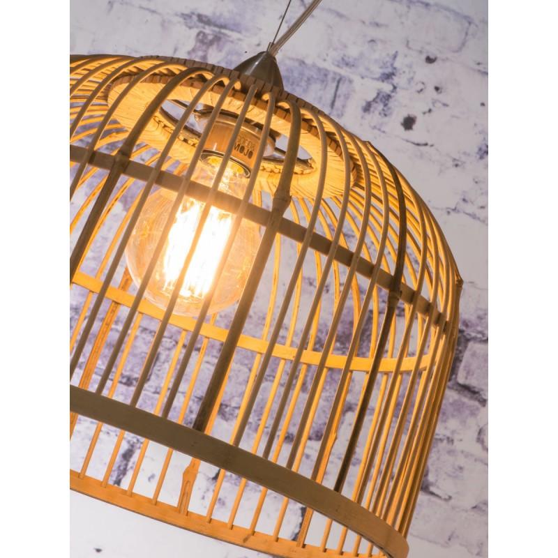 Lampe à suspension en bambou BORNEO XL (naturel) - image 45077