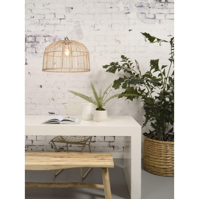 BORNEO XL bamboo suspension lamp (natural) - image 45080