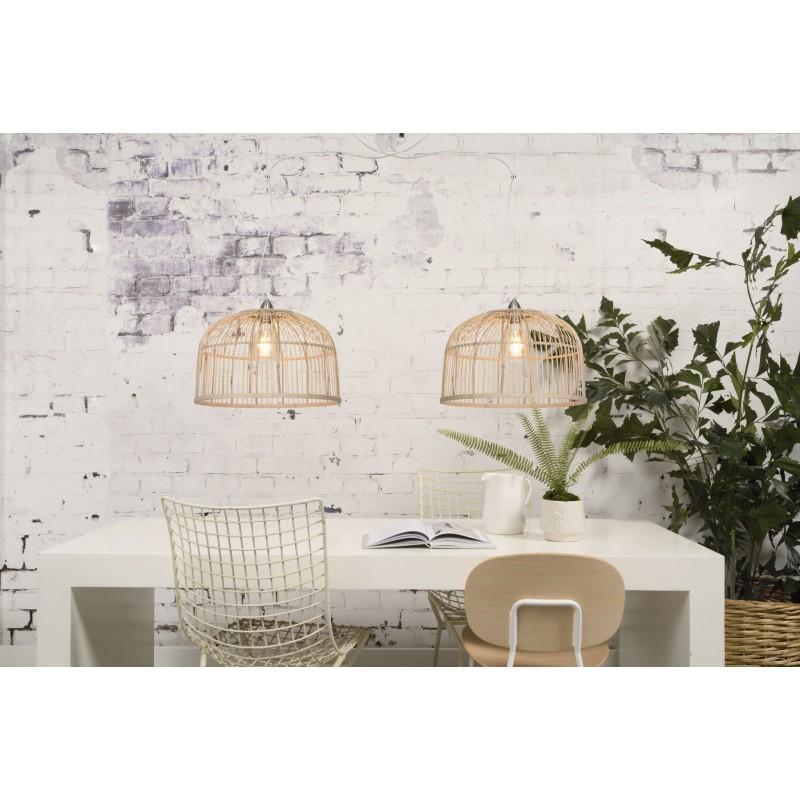 Lampe à suspension en bambou BORNEO XL (naturel) - image 45081