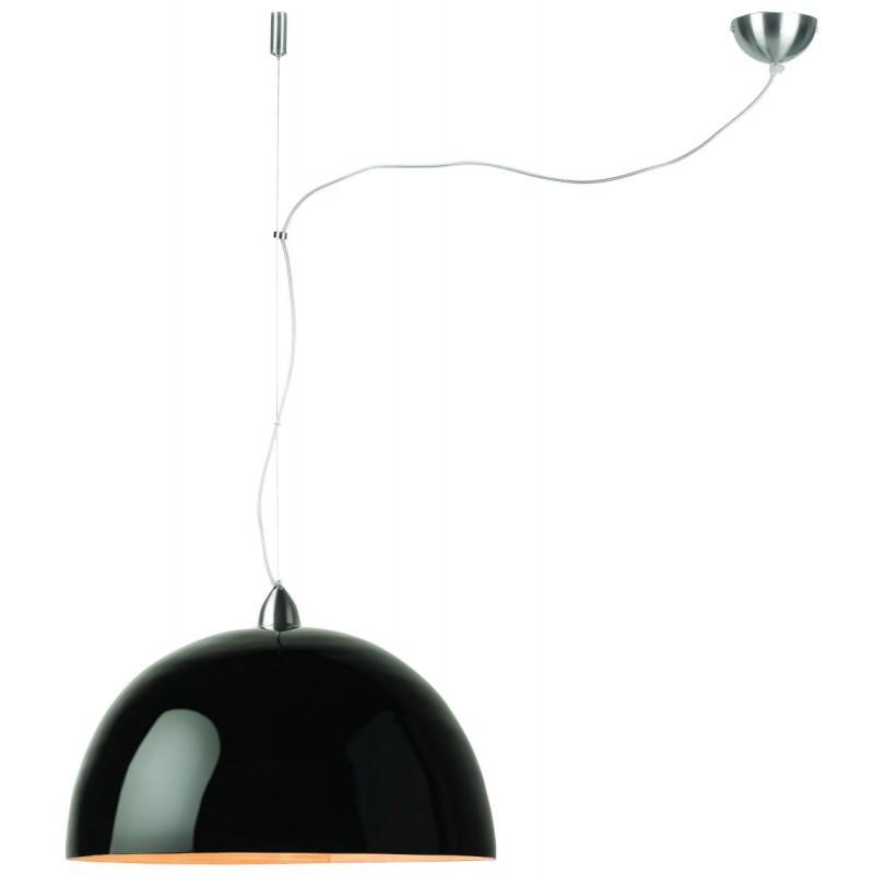 Lampe à suspension en bambou HALONG (noir) - image 45107