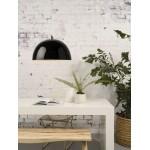 Lámpara de suspensión de bambú HALONG (negro)