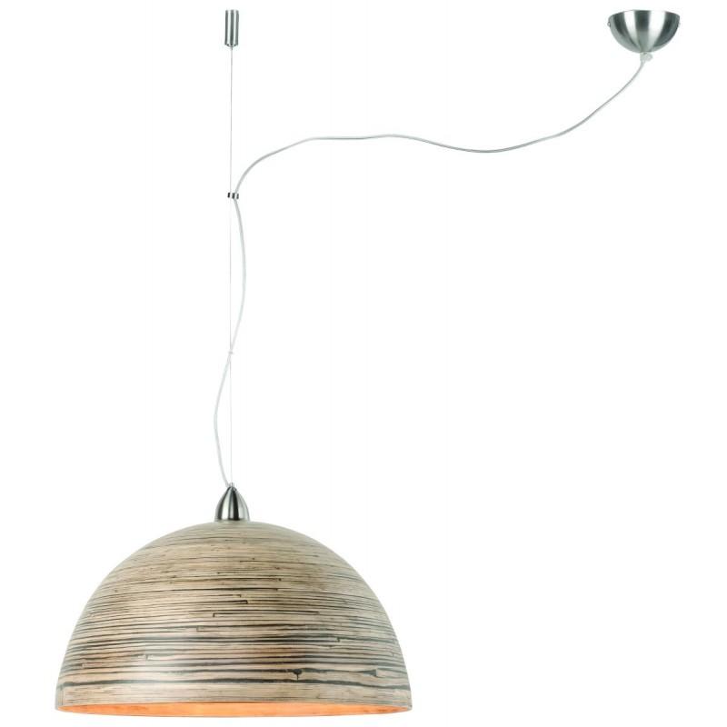 Lámpara de suspensión de bambú HALONG (natural)