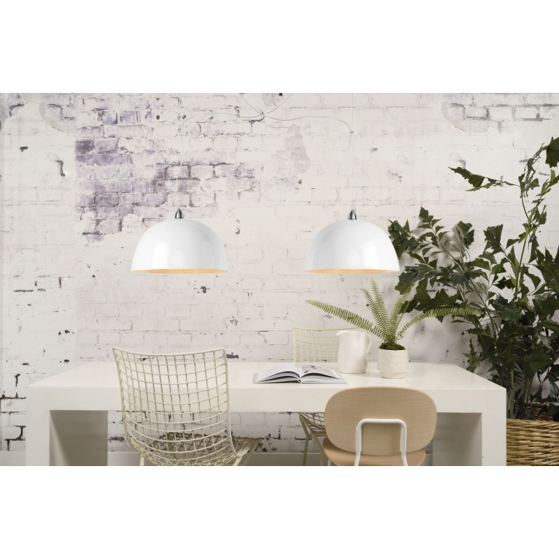 HALONG bamboo suspension lamp (white) - image 45129