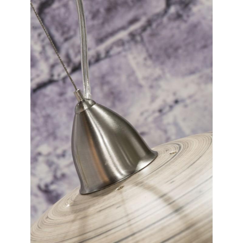 HALONG Bamboo Suspension Lamp 2 lampshades (natural) - image 45138