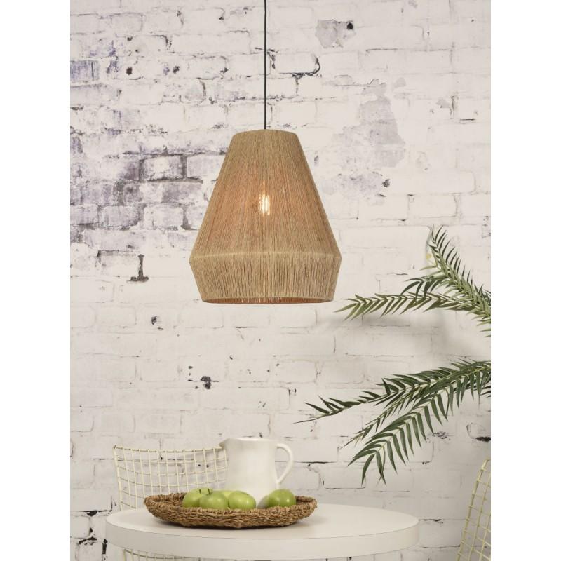 Lampe à suspension en jute IGUAZU SMALL (Ø 40 cm) (naturel) - image 45168