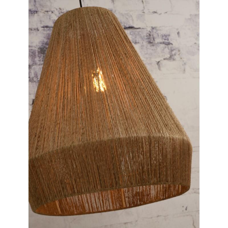 Lampe à suspension en jute IGUAZU XL (Ø 50 cm) (naturel) - image 45184