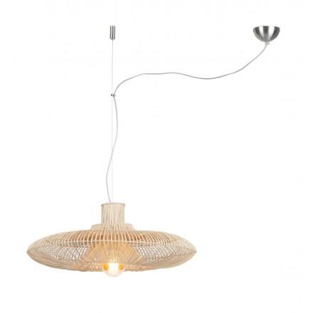 KALAHARI XL rattan suspension lamp (natural)