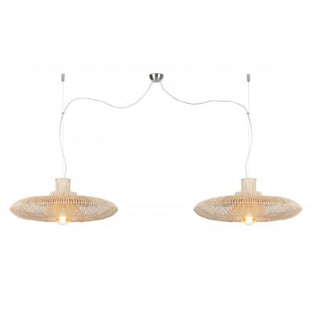 KALAHARI XL 2 lámpara (natural) lámpara de suspensión de ratán
