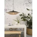 KalIMANTAN SMALL lampada per sospensioni di bambù (naturale, nera)