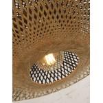 KaliMANTAN XL aplique de pared de bambú (natural, negro)