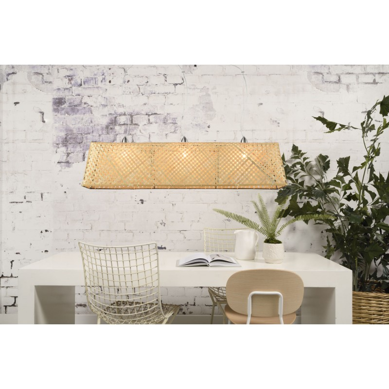 KOMODO bamboo suspension lamp (natural) - image 45316