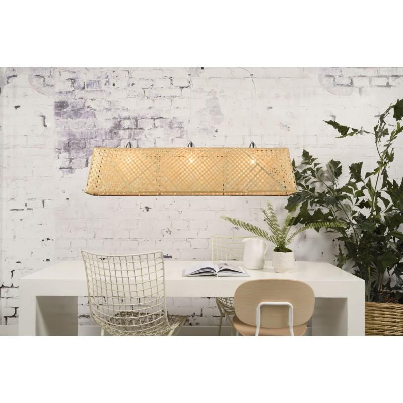 Lámpara de suspensión de bambú KOMODO (natural) - image 45316