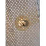 Lámpara de suspensión de bambú KOMODO (blanco)