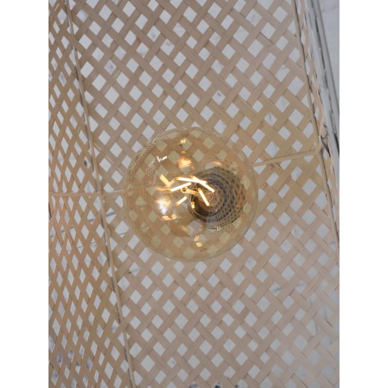 Lampe à suspension en bambou KOMODO (blanc) - image 45331
